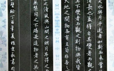 苏轼《前赤壁赋》手写钢笔字笔友钢笔书法习作欣赏