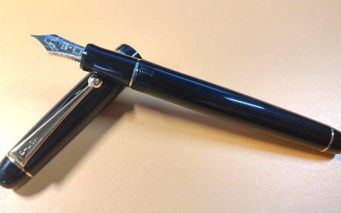 Pilot百乐74 14K钢笔MF尖钢笔再次评测