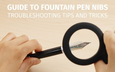 钢笔笔尖调整技巧及维护指南