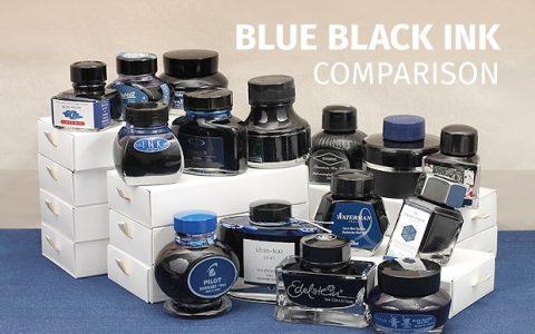 市面上常见的蓝黑色钢笔墨水对比使用指南