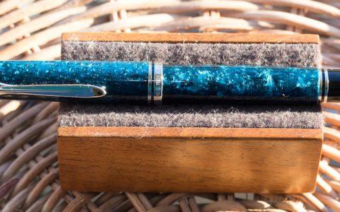 Pelikan百利金M805限量版Ocean Swirl海洋漩涡钢笔评测