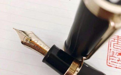 万宝龙2018年度文豪限定钢笔——荷马评测
