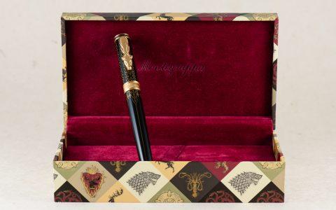 Montegrappa万特佳权力的游戏纪念款钢笔拜拉席恩评测