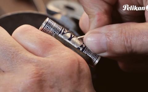 Pelikan百利金钢笔制作流程视频