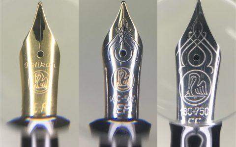 几支百利金钢笔评测的简单补图