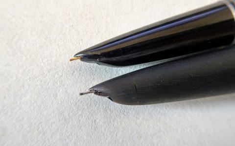 从打磨英雄616浅谈打磨钢笔的选择和使用
