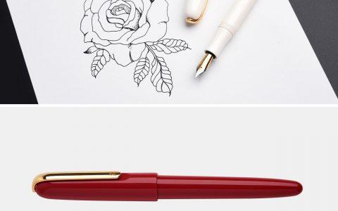 KACO Master大师钢笔双色笔尖EF尖评测