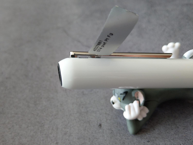 LAMY焦点3钢琴烤漆白色14K钢笔评测06