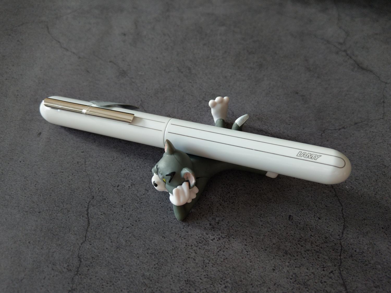 LAMY焦点3钢琴烤漆白色14K钢笔评测27
