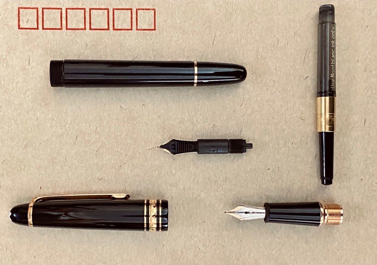 万宝龙146钢笔6