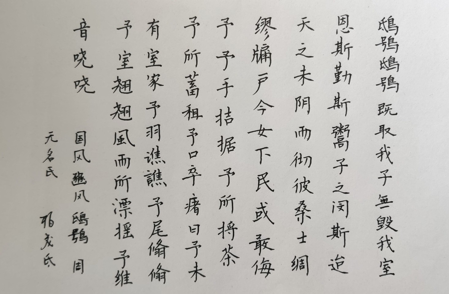 钢笔书法练字打卡20210427-18