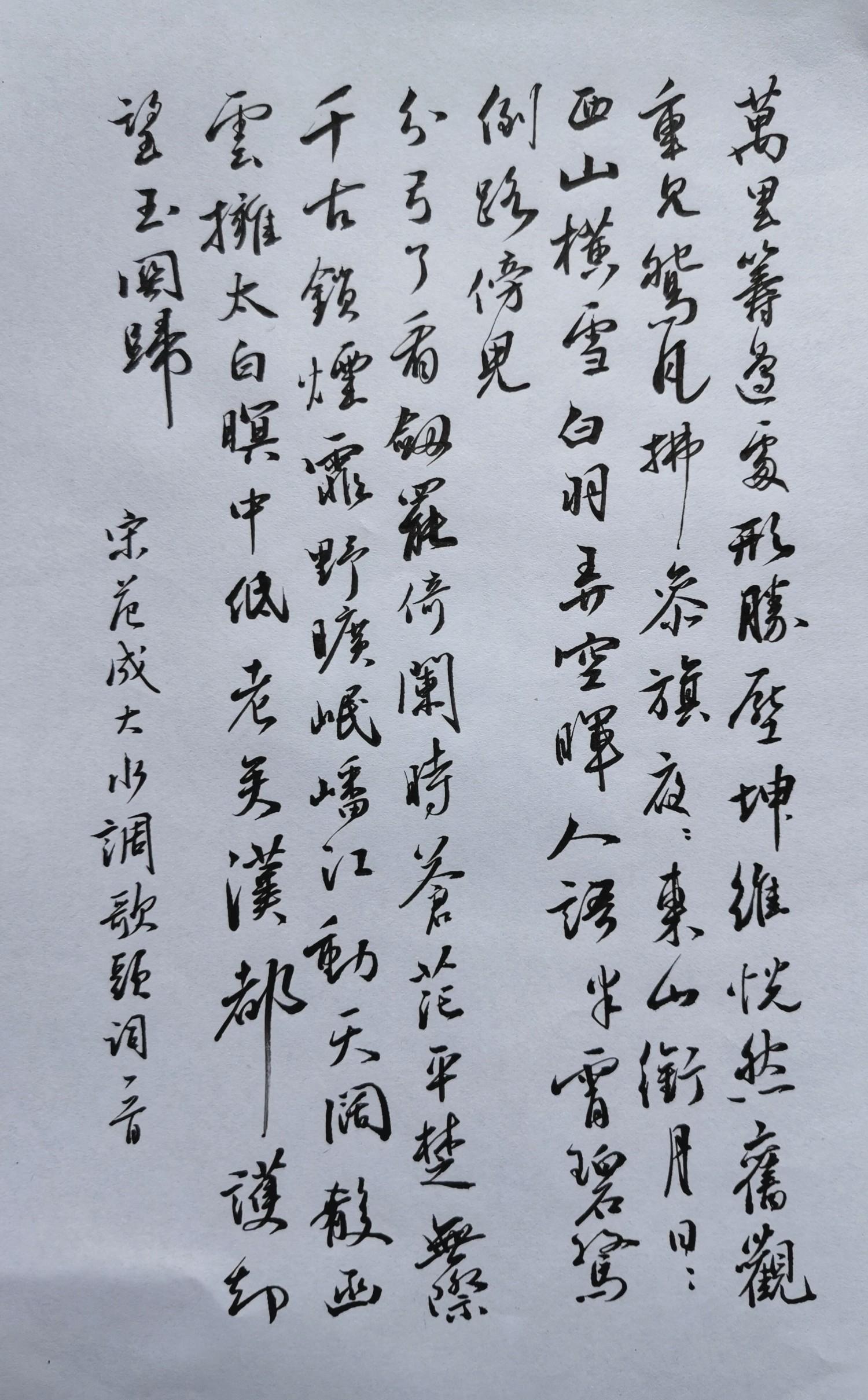 钢笔爱好者练字打卡20210413-21